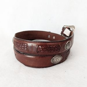 Fossil Leather Belt 30 - 32